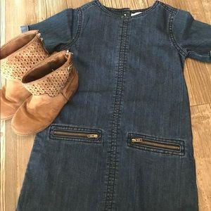 ☀️Denim Toddler Old Navy Dress 5T☀️